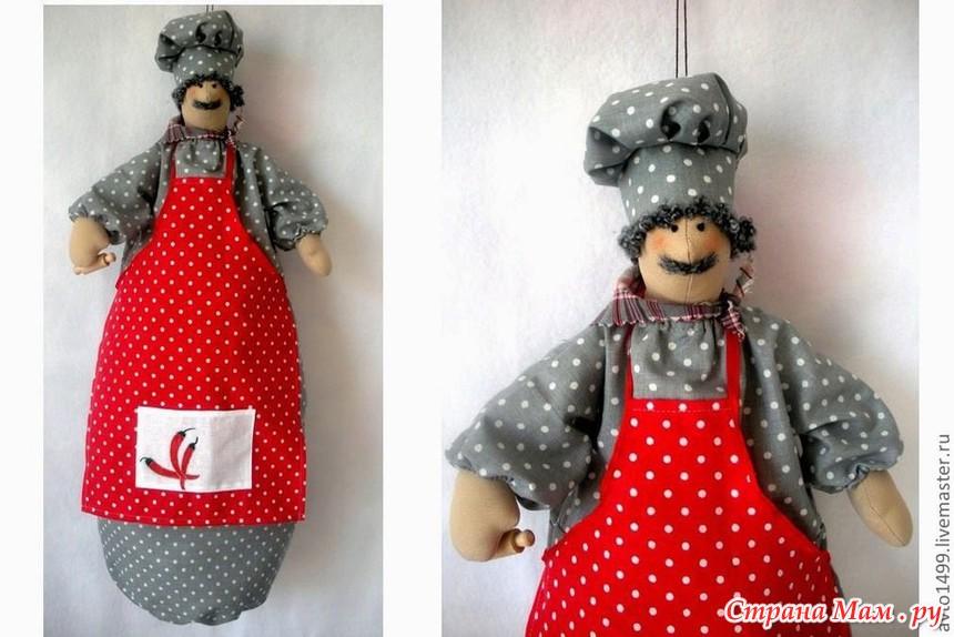 Пакетницы тильда для кухни своими руками мастер класс