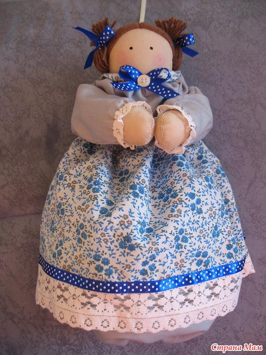 Сшить куклу для пакетов своими руками 43