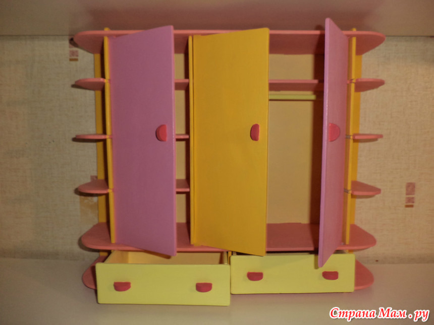 Кукольная мебель - самое интересное в блогах.