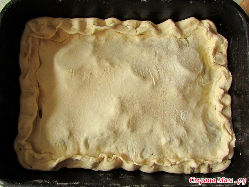 рецепт свежей селедки Пирог из