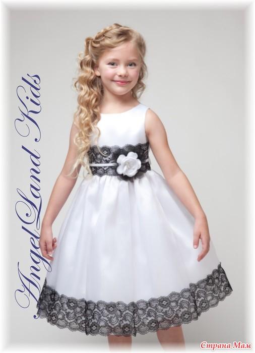 Нарядные платья девочке шить