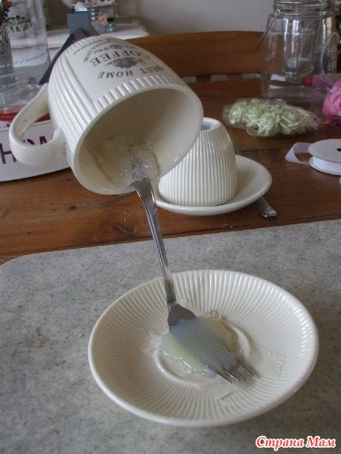 Как сделать топиарий из чашки своими руками