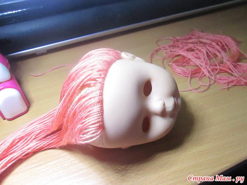 Как сделать новые волосы старой кукле