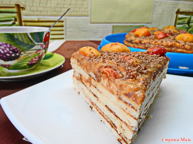Торт на сковороде готовим дома