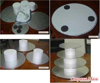 Как сделать подставку для кекса