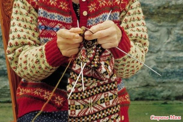 Техника жаккардового вязания. Часть первая.