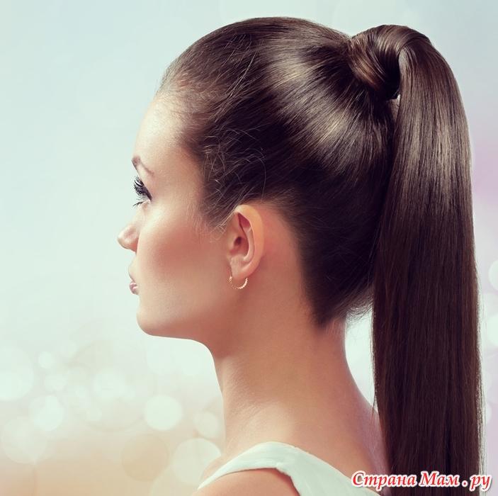 Причёски фото на хвостик