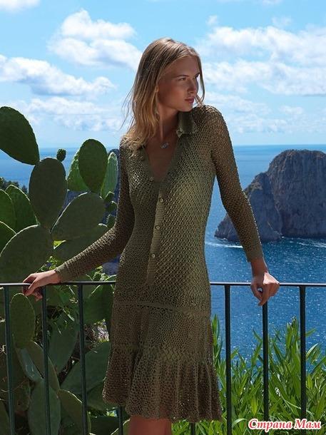 Платье Амальфи от Джованны Диас
