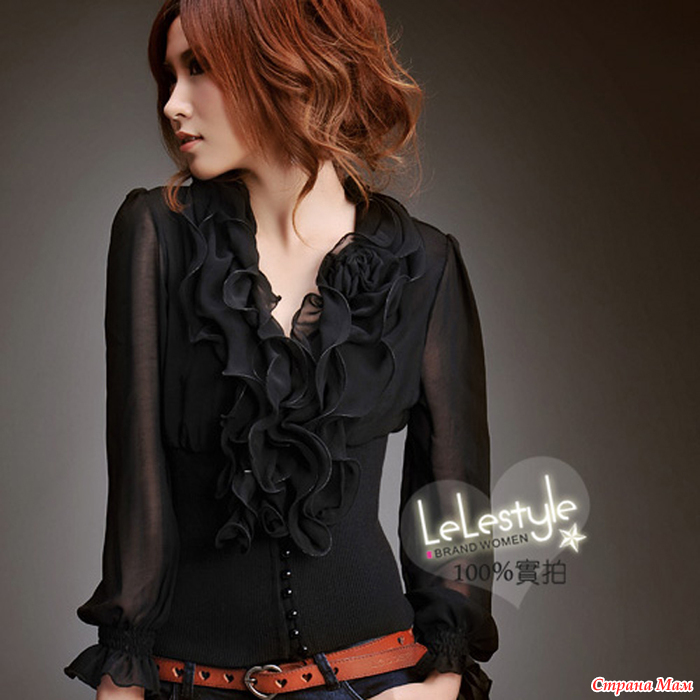Модные Блузки Из Шифона 2014 В Спб