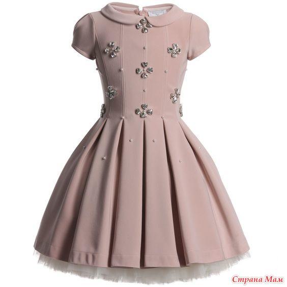 Выкройка платья со складкой на талии