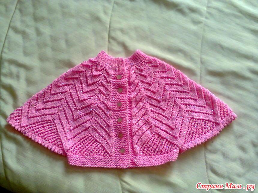 ажурное вязание для девочек