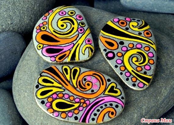 Идеи для рисунков на камне