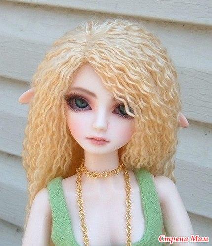 Сделать волосы кукле своими руками