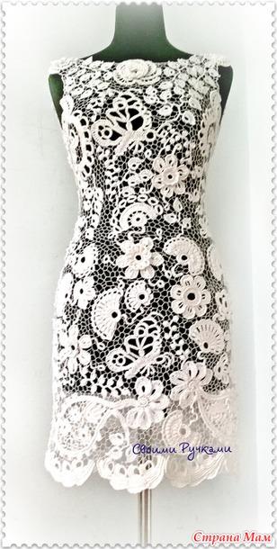 Платье по мотивам свадебного...