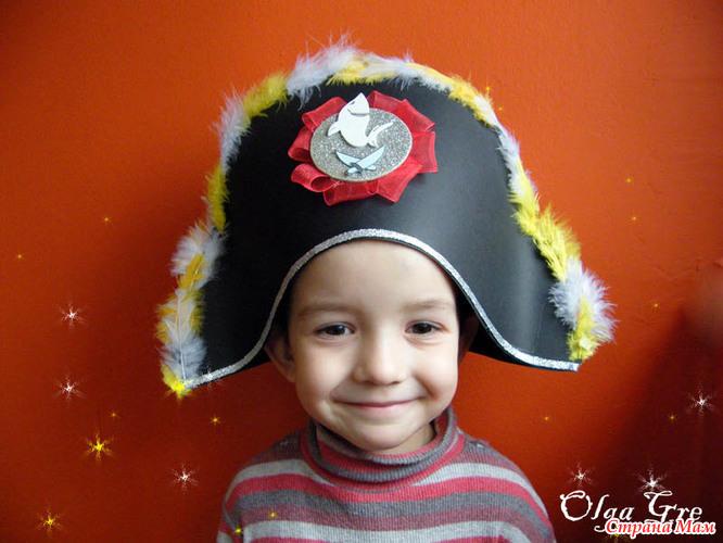 Шляпа мальчику своими руками