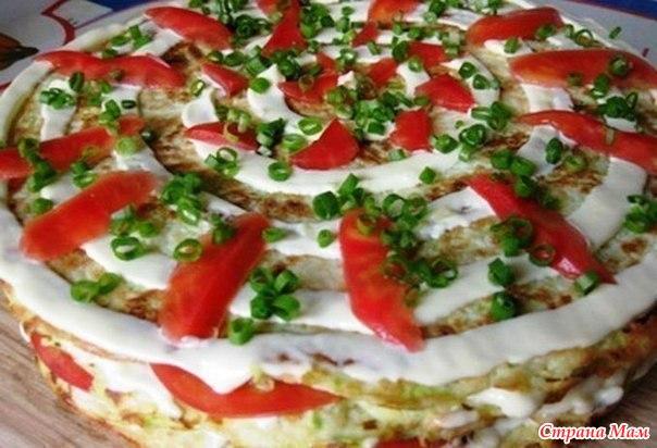 Тортик кабачков фото