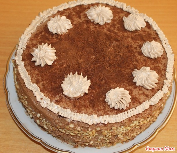 Торт киевский по госту рецепт пошагово 164