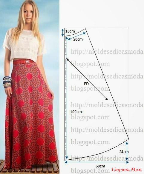 Сшить юбку легко и просто