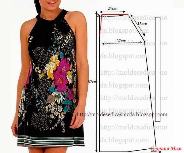Летние платье своими руками шить легко и просто