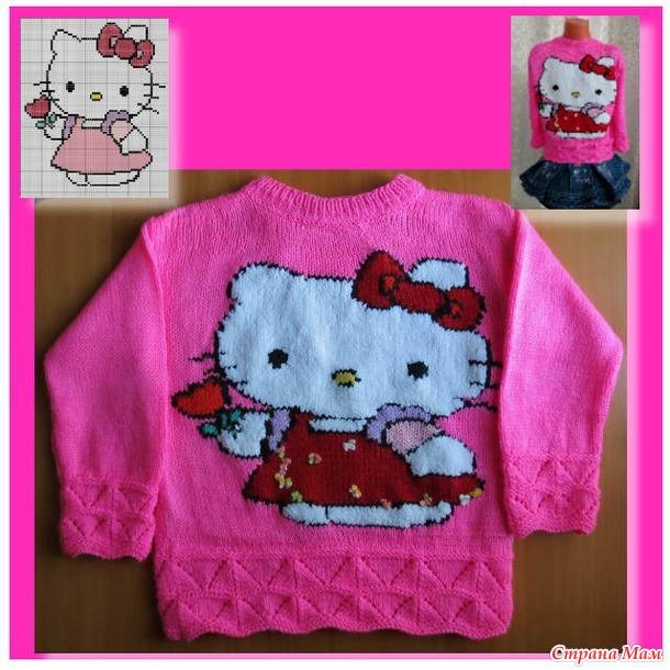Джемпер Hello Kitty С Доставкой