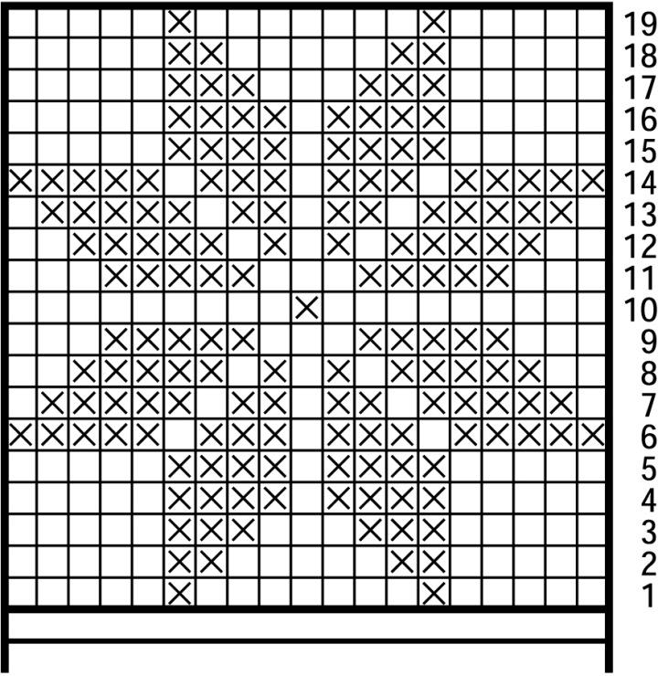 рисунки для вязания спицами простые