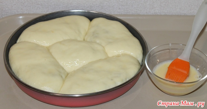Сдобное тесто для пирога с пошаговым