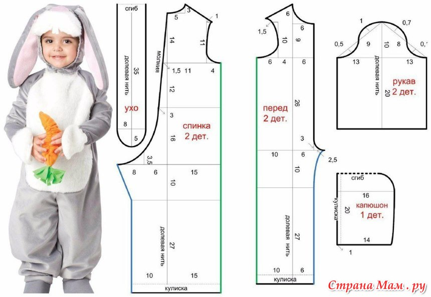 Как сшить мальчику летний костюм своими руками