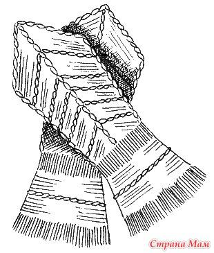 """Замечательное пособие """"Самоучитель по вязанию"""". Продолжение. Урок 8, 9, 10 и 11. Вязание мелких изделий на двух спицах"""