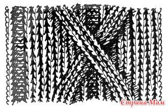 """. Замечательное пособие """"Самоучитель по вязанию"""". Продолжение. Урок 18. Варианты жгутов для любознательных (первая часть урока)"""