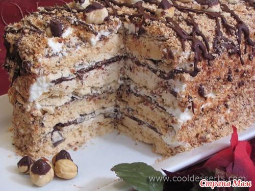 Рецепты тортов из безе в домашних условиях рецепт