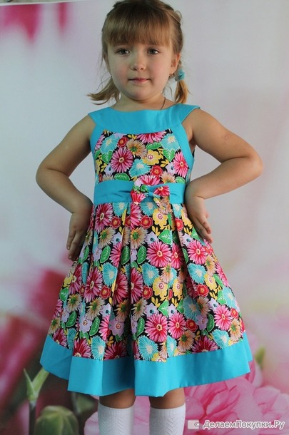 Закупка детские платья