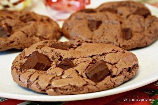 Печеньки шоколадные рецепты