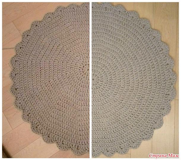 Как вязать из трикотажной пряжи лента