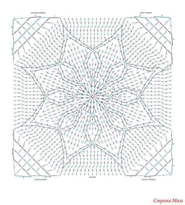 针织:美丽的毯子的图案 - maomao - 我随心动