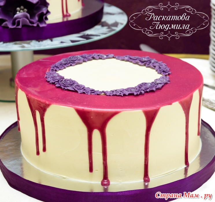 зеркальная глазурь для торта цветная рецепт без глюкозы