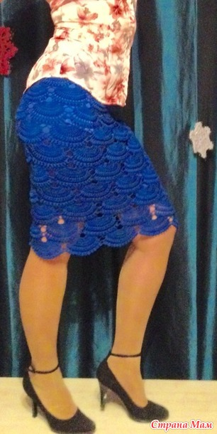 Шикарные вязаные юбки