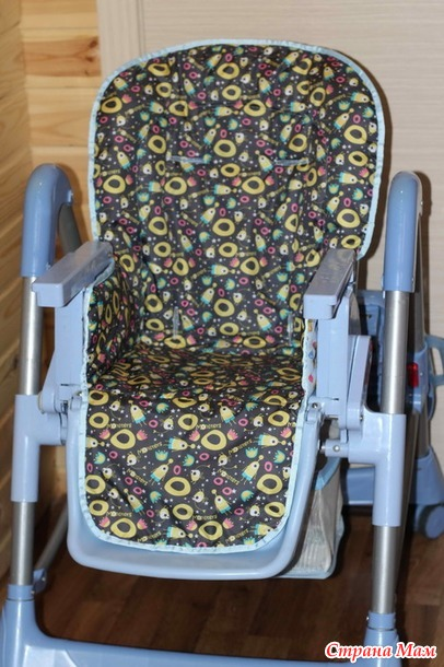 Чехол на детский стульчик для кормления своими руками 81