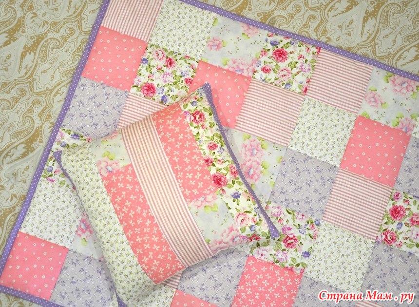 Одеяло пэчворк своими руками для детей