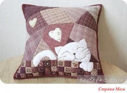 Фото диванные подушки своими руками