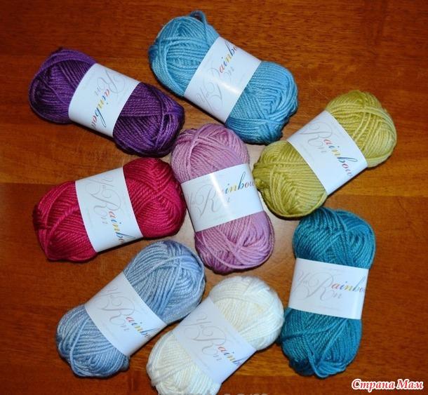 """Rainbow Yarn"" что за пряжа"