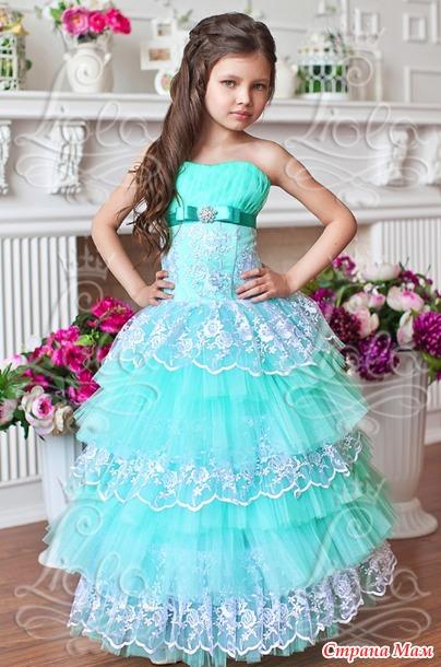 Платья на выпускной модели