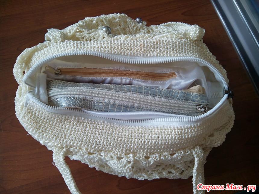 Вязание капроновыми нитками 10