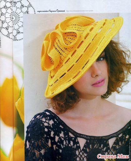 . Очаровательные Шляпки на лето