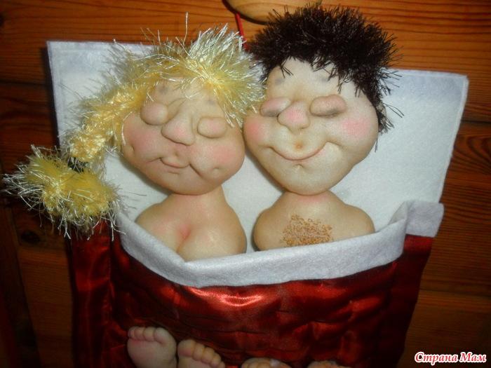 Куклы из чулок своими руками