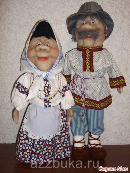 Пошив тряпичных кукол своими руками