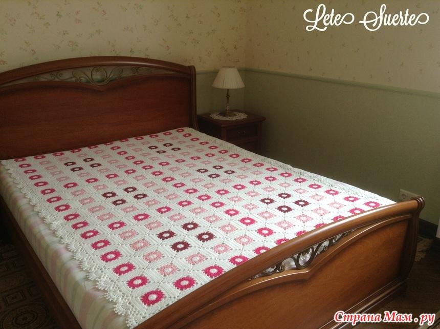 """永不过时的""""奶奶广场花""""床罩 - maomao - 我随心动"""