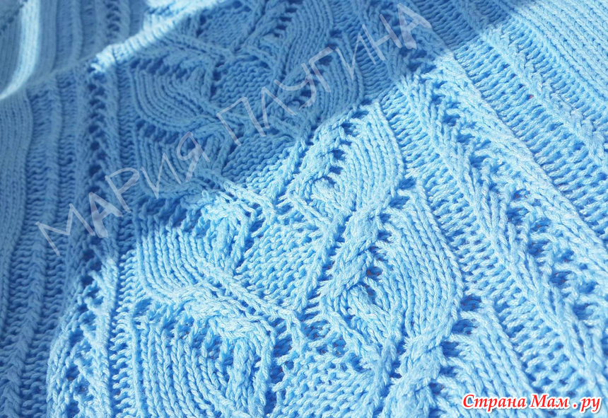 针织蓝色T恤 - maomao - 我随心动