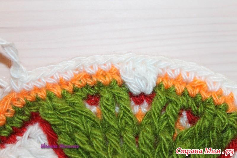 钩针教程:花卉地垫(大师班)(一) - maomao - 我随心动