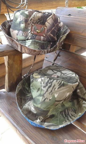 клеенчатая шляпа рыбака
