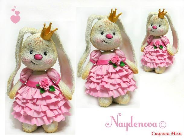 Поделка из фоамирана куклы